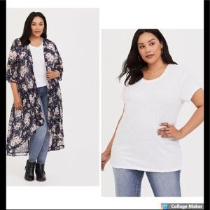 New Torrid Plus size relaxed fit tee